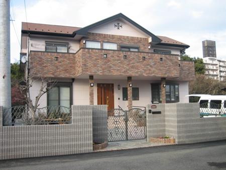 シンプルモダンなデザイン住宅